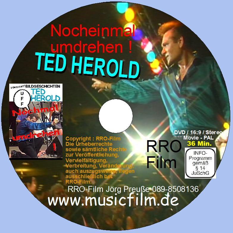 Ted Herold Buch mit DVD Dezember 2020